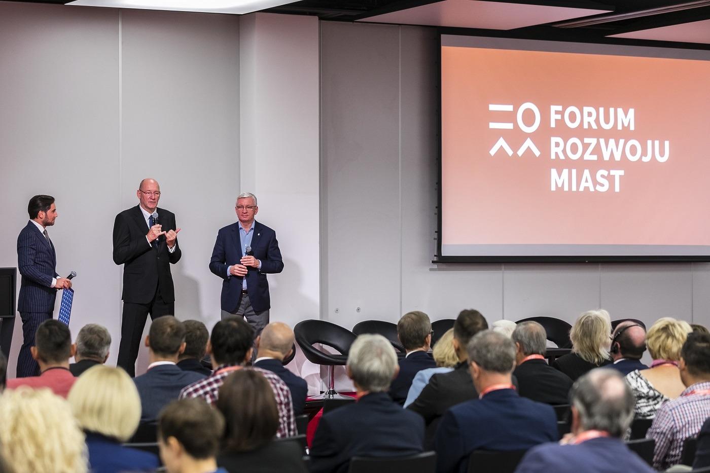 II Forum Rozwoju Miast w Poznaniu